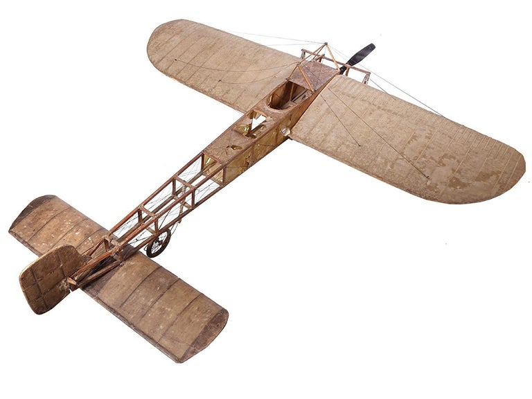 Industrial Very Early Model of a 1909 Louis Bleriot Aircraft For Sale
