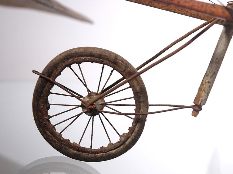 Unknown Very Early Model of a 1909 Louis Bleriot Aircraft For Sale
