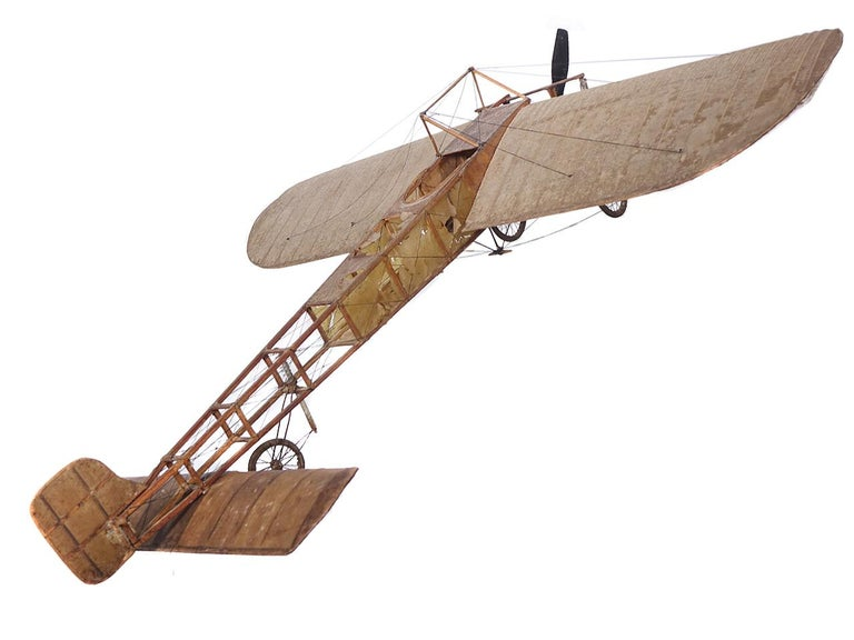 20th Century Very Early Model of a 1909 Louis Bleriot Aircraft For Sale
