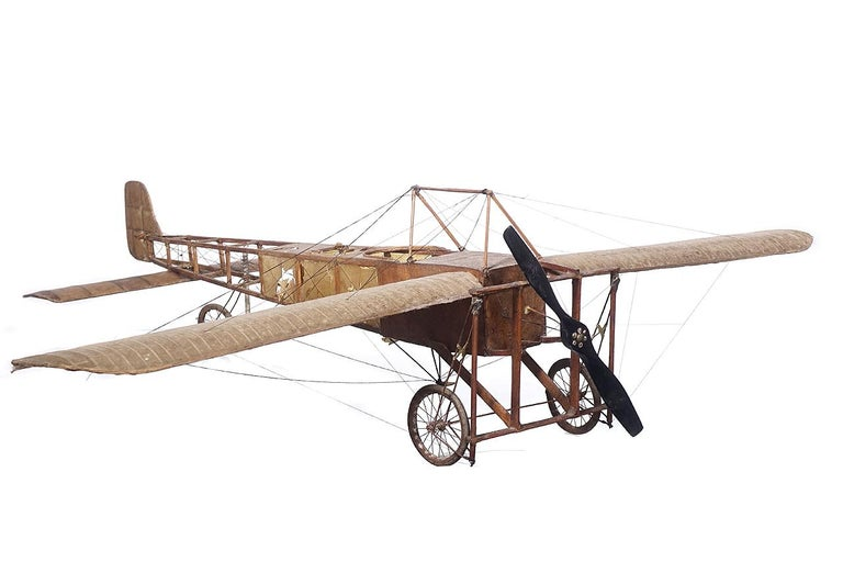 Very Early Model of a 1909 Louis Bleriot Aircraft For Sale 1
