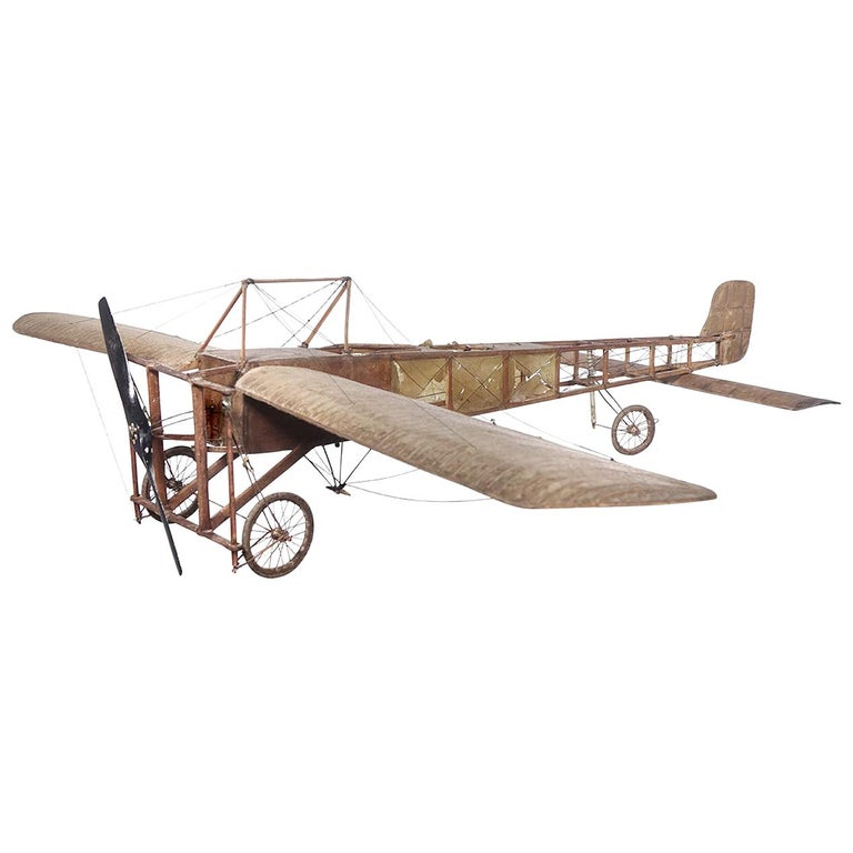Very Early Model of a 1909 Louis Bleriot Aircraft For Sale