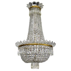 Very Elegant Baccarat Crystal Chandelier