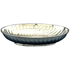 Very Fine 19th-20th Century Silver Plated Bowl by Christofle, Paris Circa 1900