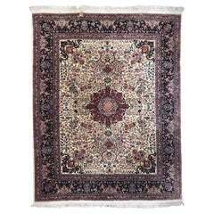 Very Fine and Beautiful Large Vintage Tabriz Style Rug