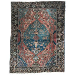 Very Fine Antique Bakhshaish Rug