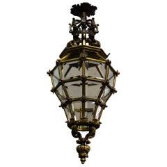 Very Fine Bronze Versailles Style Lantern