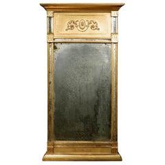 Very Fine Gustavian Period Giltwood Pier Mirror, Swedish Circa 1800