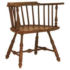 Very Fine Low-Back Windsor Armchair