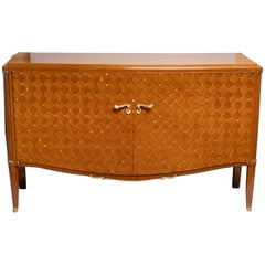 Very Fine Mahogany Art Deco Buffet by Jules Leleu