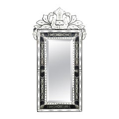 Very Fine Quality 1950s Mirror of Complex and Elaborate Form