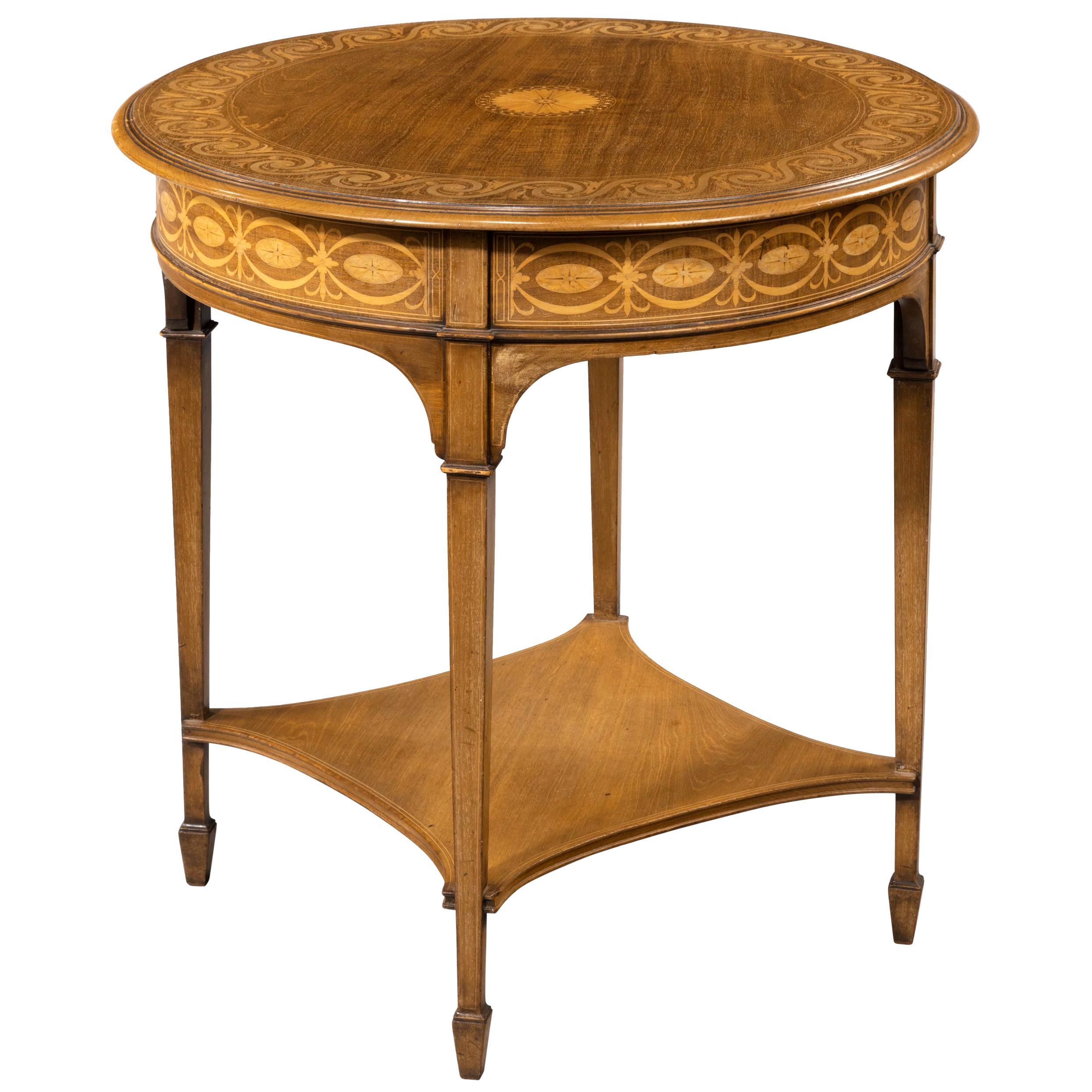 Very Fine Quality Early 20th Century Mahogany Centre Table