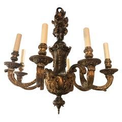 Very Fine Regence Style Gilt Bronze Chandelier