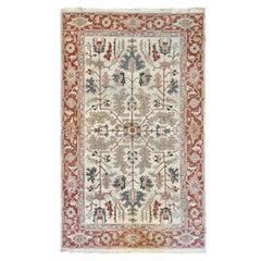Very Fine Semi-Antique Heriz Serapi Soumak Carpet