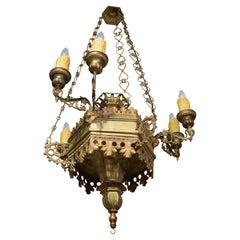 Very Fine Silver over Bronze Lantern