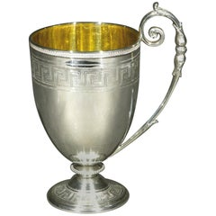 Very Fine Sterling Silver Spirit Cup by Edward & James Barnard, London 1866
