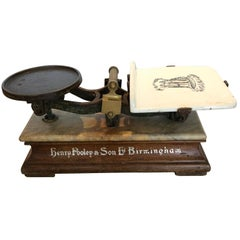 Very Handsome Antique English Grocery Scale