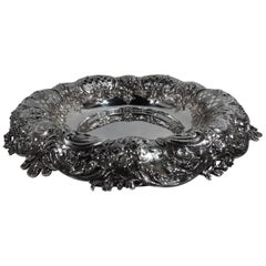 Very Heavy and Wonderfully Sumptuous Sterling Silver Centerpiece Bowl by Tiffany