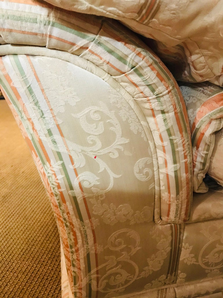 Very High-Quality Couch Set from the Bielefeld Workshops with Baroque Patterns For Sale 10