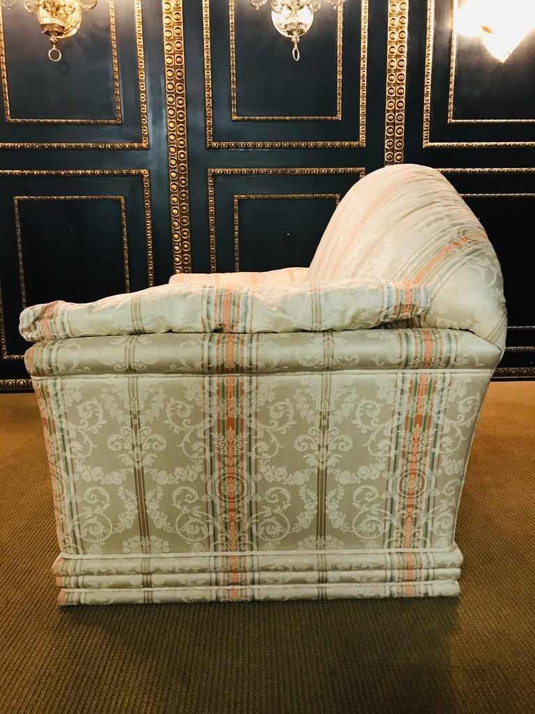 Very High-Quality Couch Set from the Bielefeld Workshops with Baroque Patterns For Sale 11