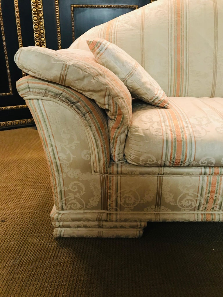 Very High-Quality Couch Set from the Bielefeld Workshops with Baroque Patterns In Good Condition For Sale In Berlin, DE
