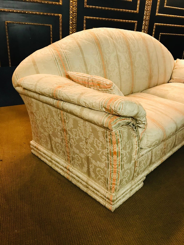 Very High-Quality Couch Set from the Bielefeld Workshops with Baroque Patterns For Sale 2