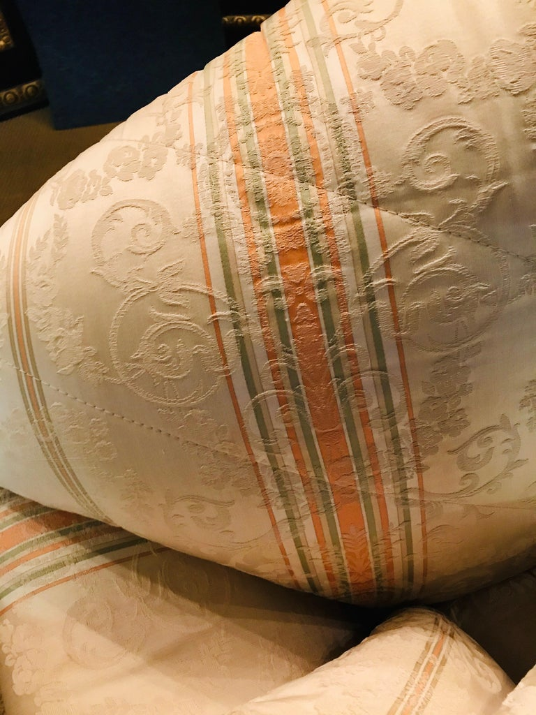 Very High-Quality Couch Set from the Bielefeld Workshops with Baroque Patterns For Sale 3