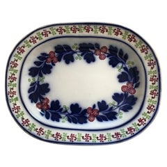 Very Large 19th Century Ironstone Ceramic Platter