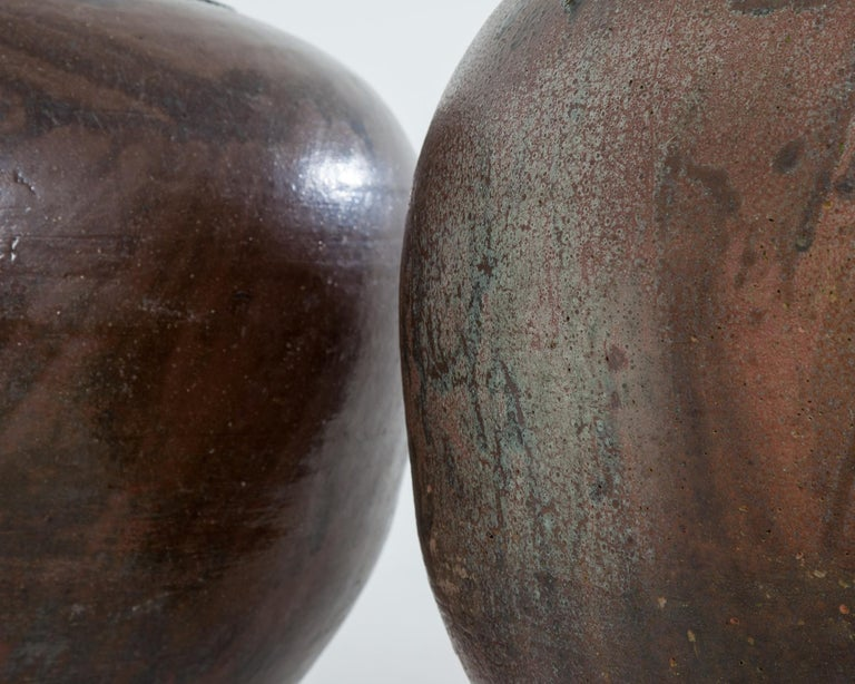 Very Large 20th Century Spanish Terracotta Pots In Good Condition For Sale In York, GB
