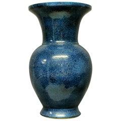 Very Large and Impressive Blue Ground Chinese Vase