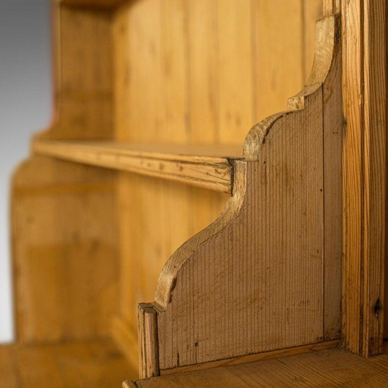 Very Large Antique Dresser Victorian, Pine, Kitchen ...