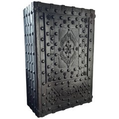 Very Large Antique Italian Hobnail Safe, 1800