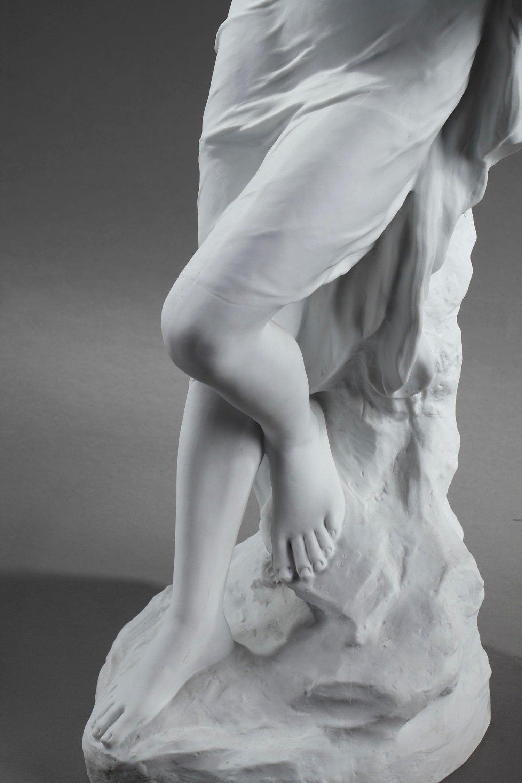 Beautiful porcelain bather old art nouveau
