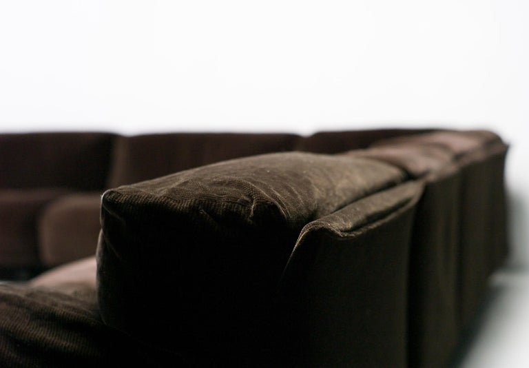 Very Large Cassina Fiandra Modular Sofa In Good Condition For Sale In Dronten, NL