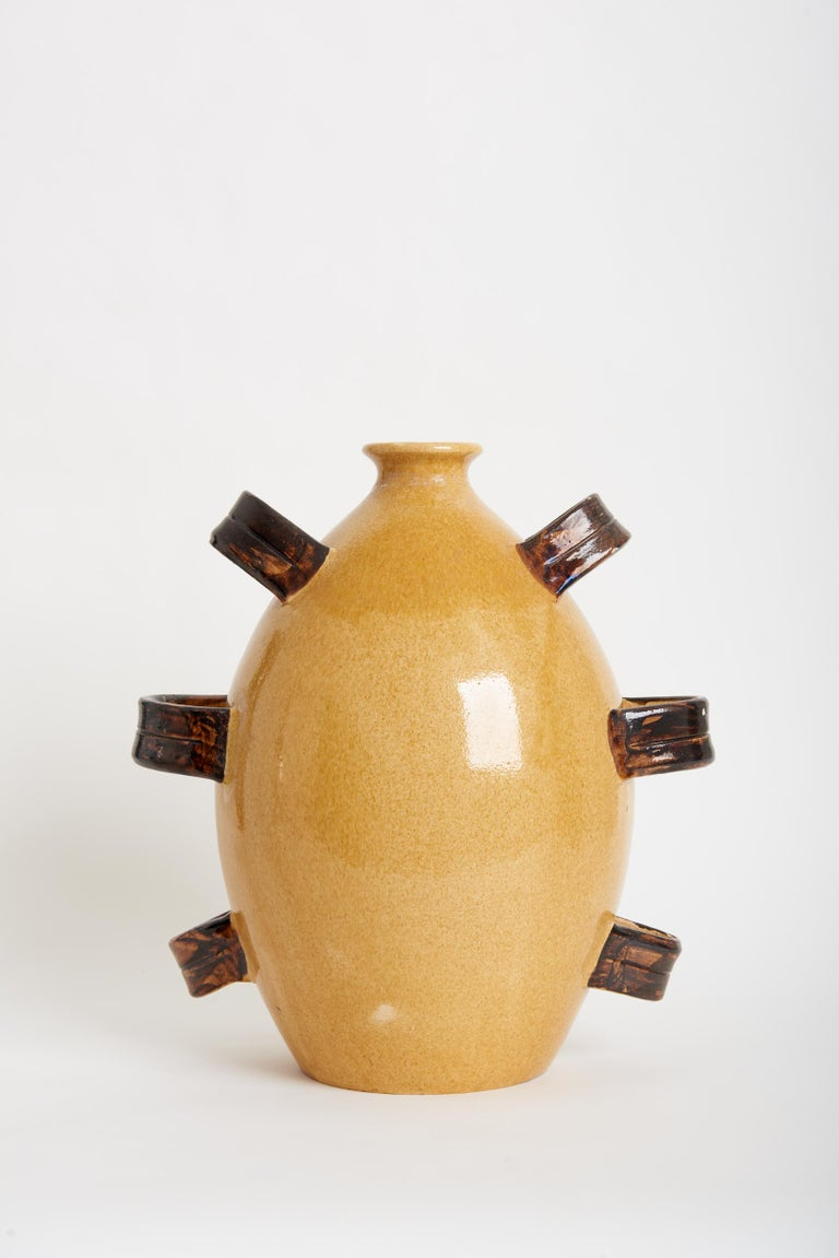French Very Large Ceramic Jar by Madoura