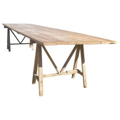 Very Large French Vendange Table