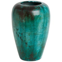 Very Large Green Vase by Primavera