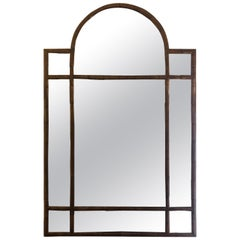 Very Large Authentic Zinc Palladio Mirror At 1stdibs