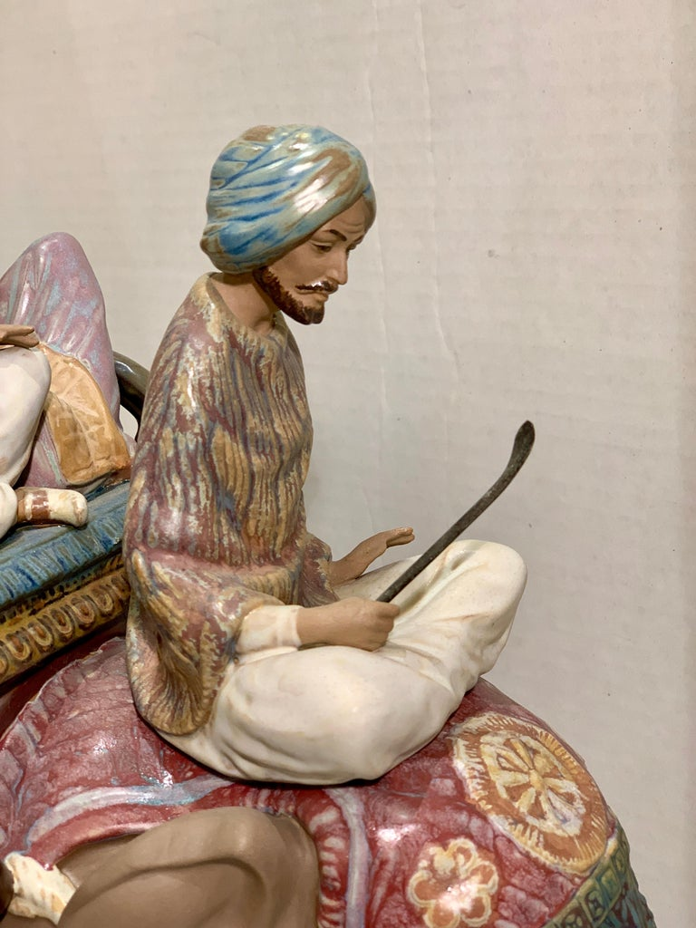 """Very Large Lladro Gres """"Road to Mandalay"""" Limited Edition Retired 1988 Sculpture For Sale 1"""
