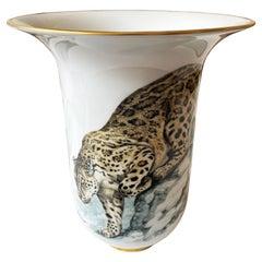 Very Large Porcelain Hermes Vase