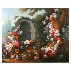 Very Large Still Life with Flowers after Gaspare dei Fiori, 1667-1732