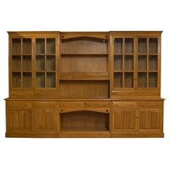 Very Large, Vintage Dresser, Victorian Taste, Ash, Kitchen Cabinet, 20th Century