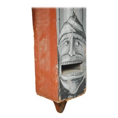 Very Large Whimsical Antique Wood Organ Pipe Case