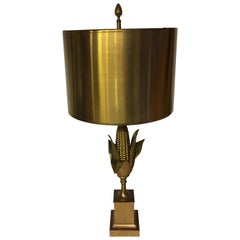 Very Nice and Signed Maison Charles Corn Lamp