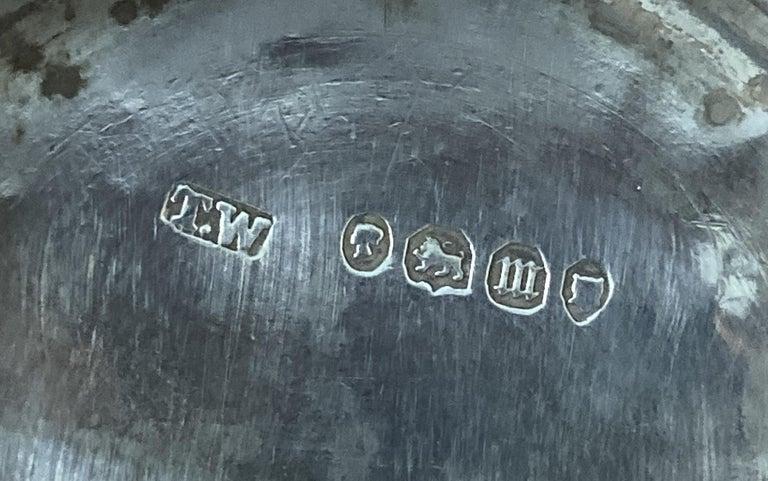 Very Rare 1867 Asprey & Co. Coromandel Dressing Table Box Sterling Silver Pearl For Sale 12
