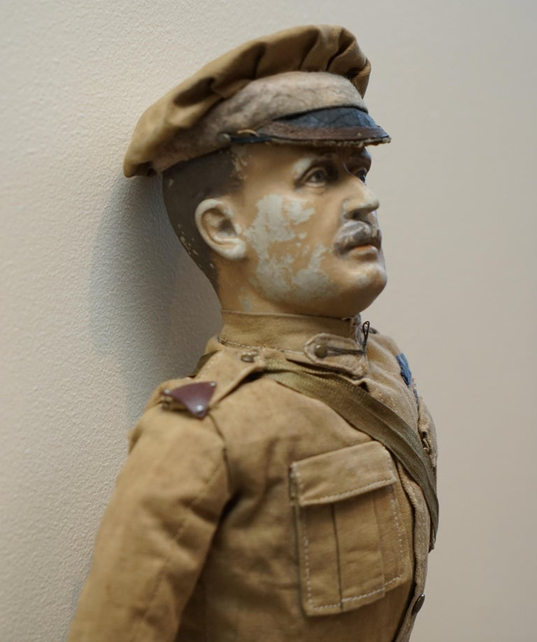 Very Rare 1898-1914 British Patriotic Propaganda Doll of Lord Horatio Kitchener For Sale 3