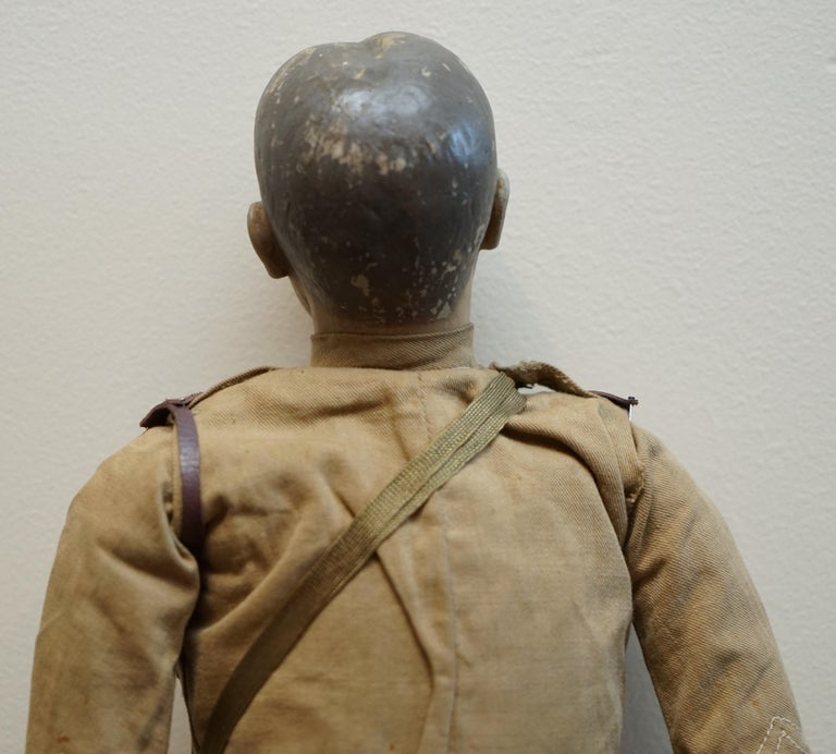 Very Rare 1898-1914 British Patriotic Propaganda Doll of Lord Horatio Kitchener For Sale 9