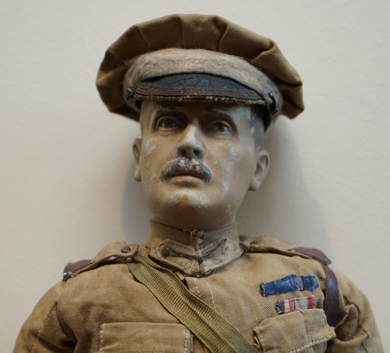 Late 19th Century Very Rare 1898-1914 British Patriotic Propaganda Doll of Lord Horatio Kitchener For Sale