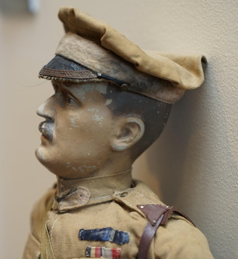 Very Rare 1898-1914 British Patriotic Propaganda Doll of Lord Horatio Kitchener For Sale 1