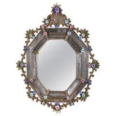 Very Rare, 18th Century Venetian Mirror