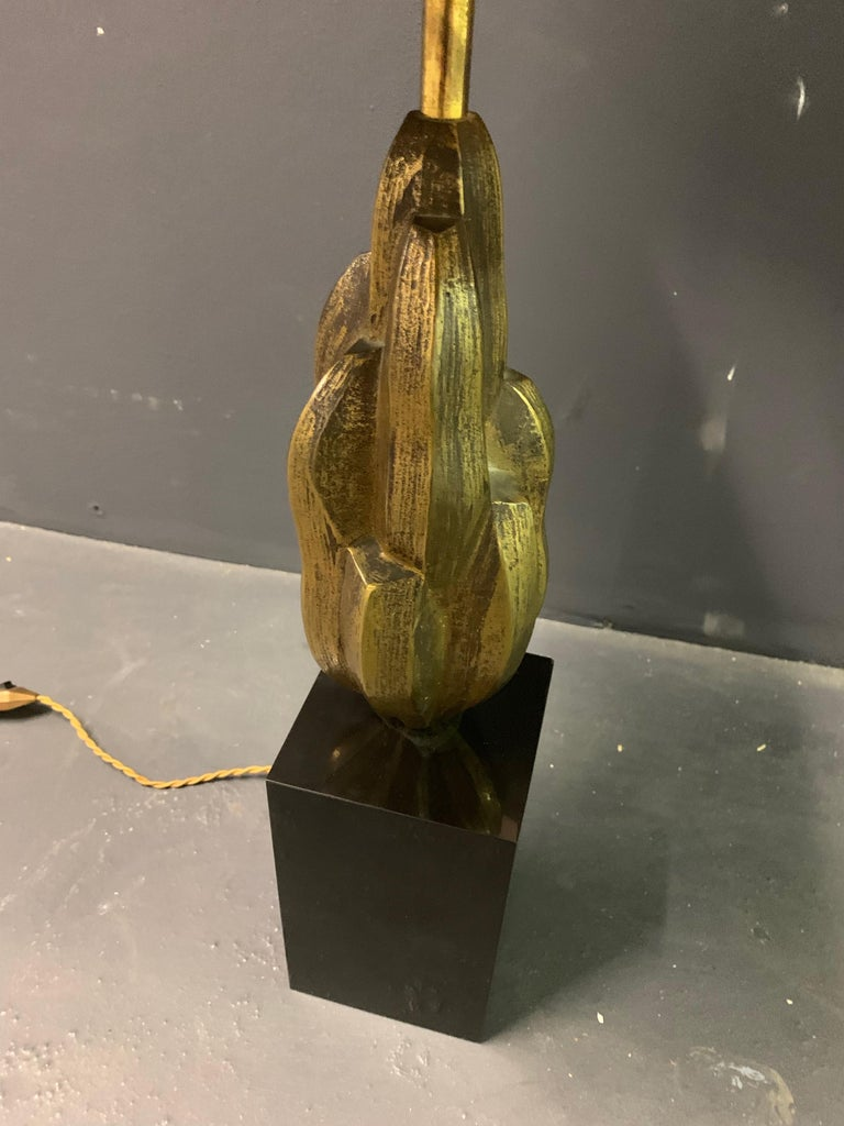 Very Rare Abstract Art Maison Charles Lamp / Signed For Sale 6
